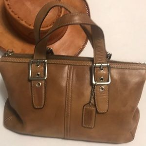 Coach Legacy Tote Leather Satchel # DO43-9545